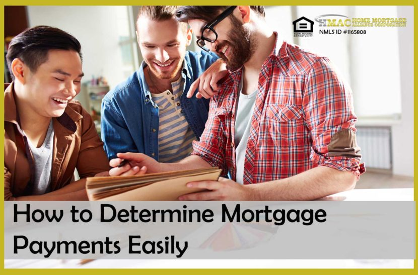 how to determine mortgage payments easily