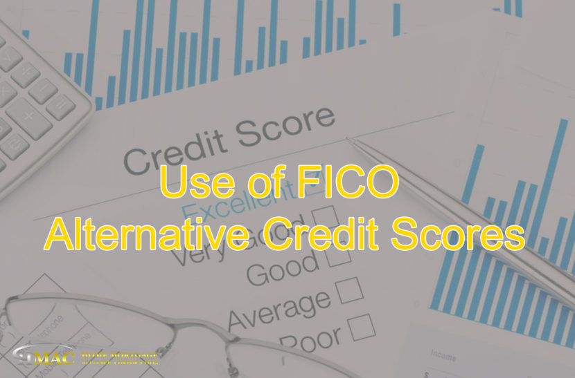 Alternative FICO credit score