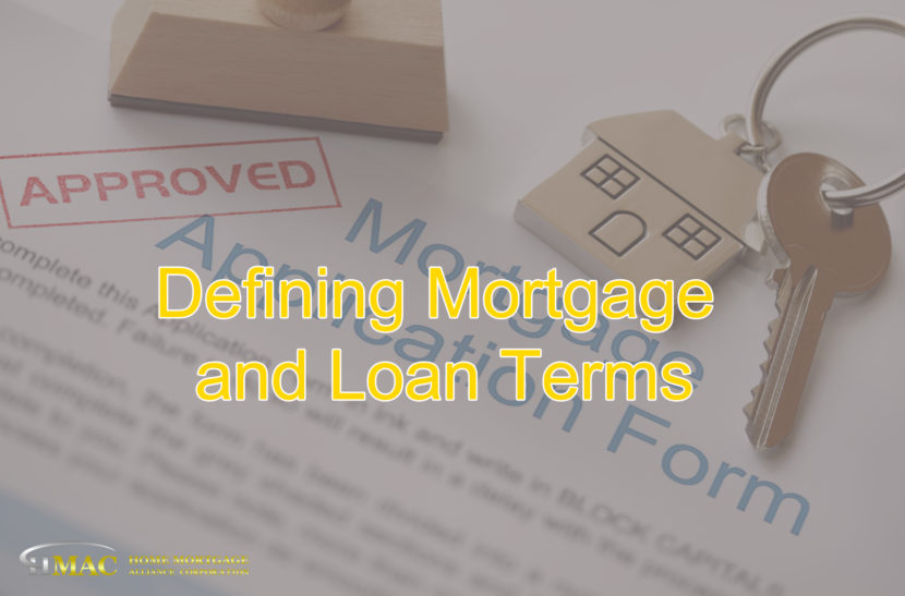Mortgage and Loan Terms