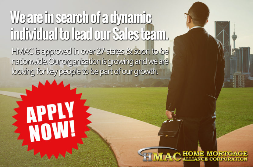 HMAC Sales Manager Job Opening