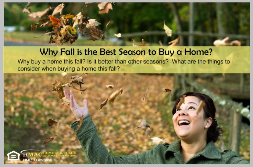 Fall is best season to buy a home