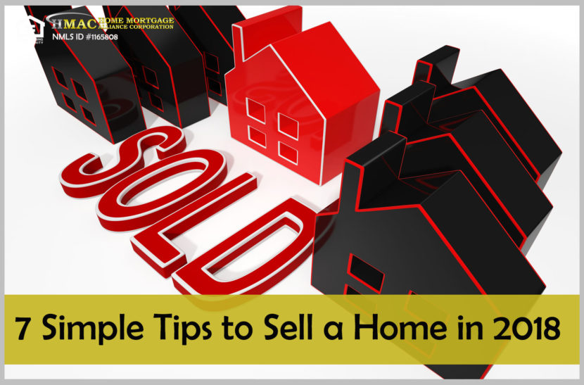 7 tips to sell a home in 2018