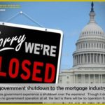 Effects of government shutdown to the mortgage industry