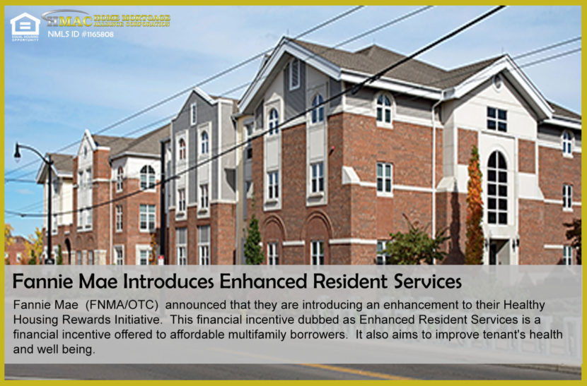 Fannie Mae Enhanced Resident Services