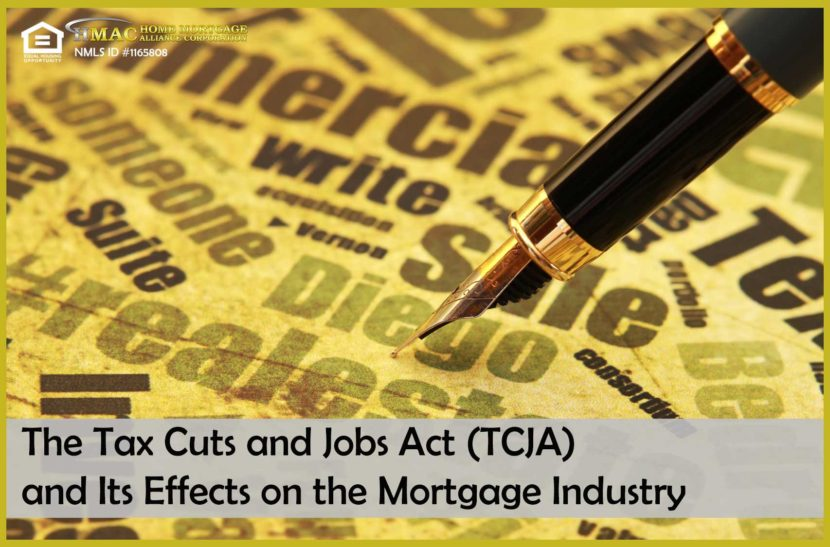Tax Cuts and Jobs Act TCJA