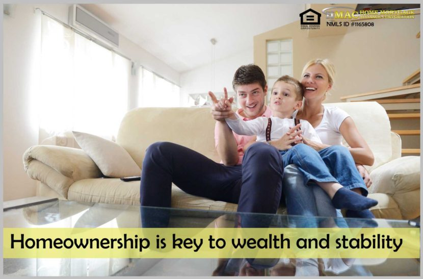 Homeownership is key to wealth and stability