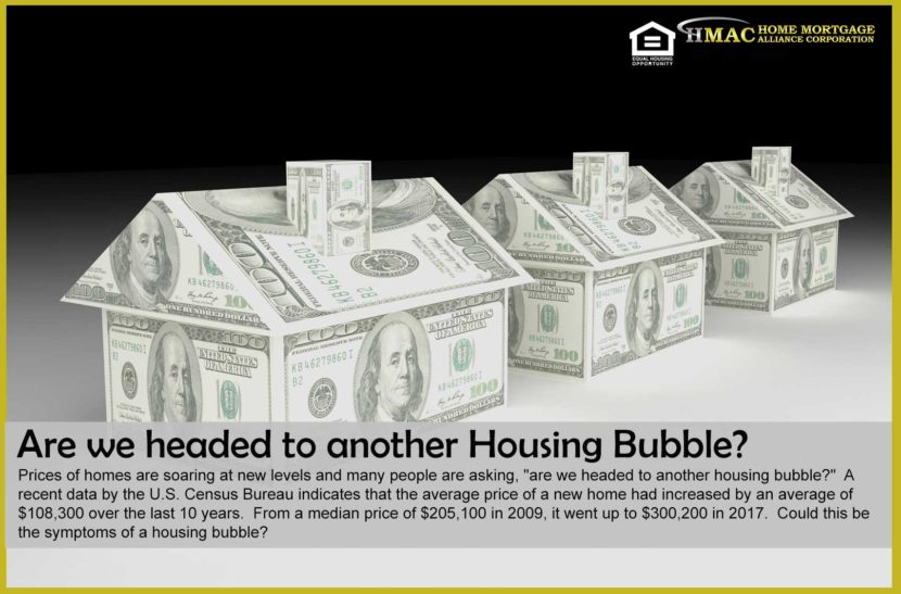 New Housing Bubble