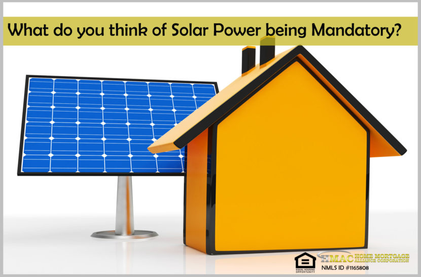 solar power for new homes