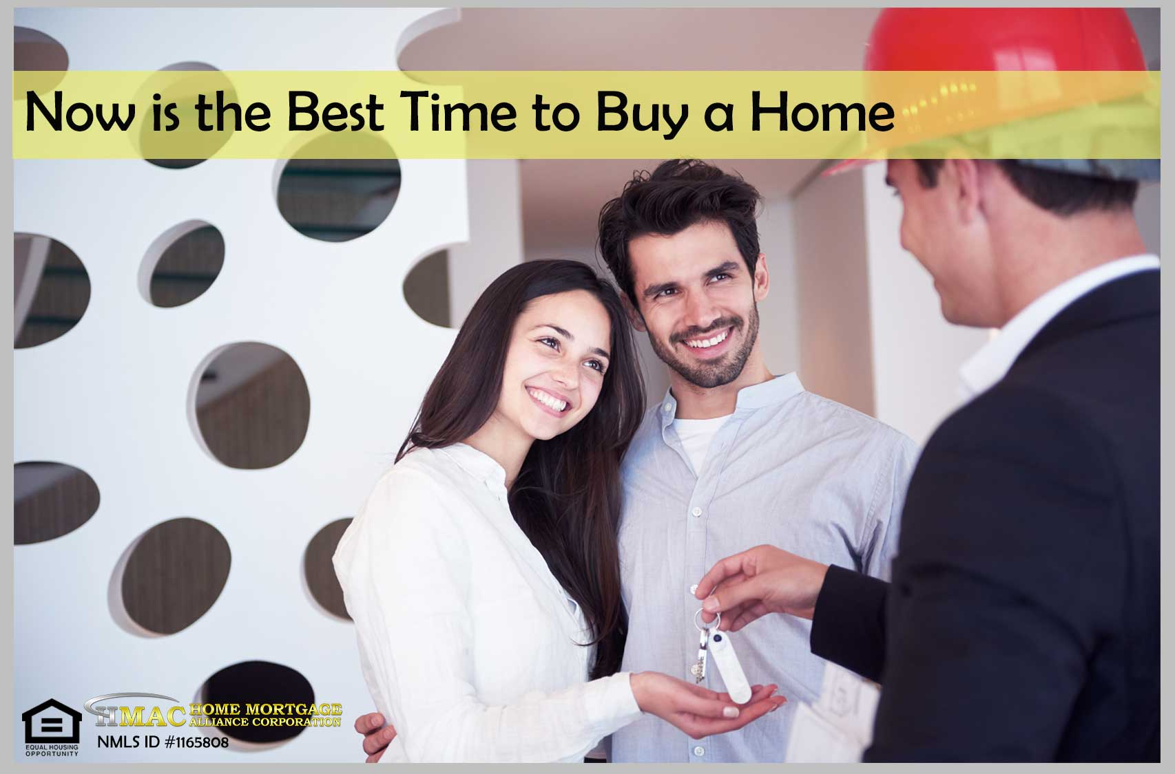 now is the best time to buy a home