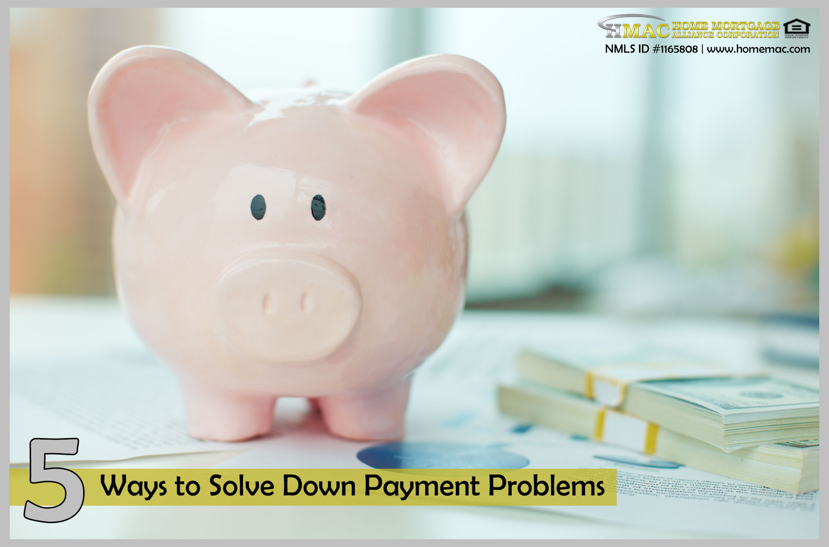 5 ways to solve down payment problems