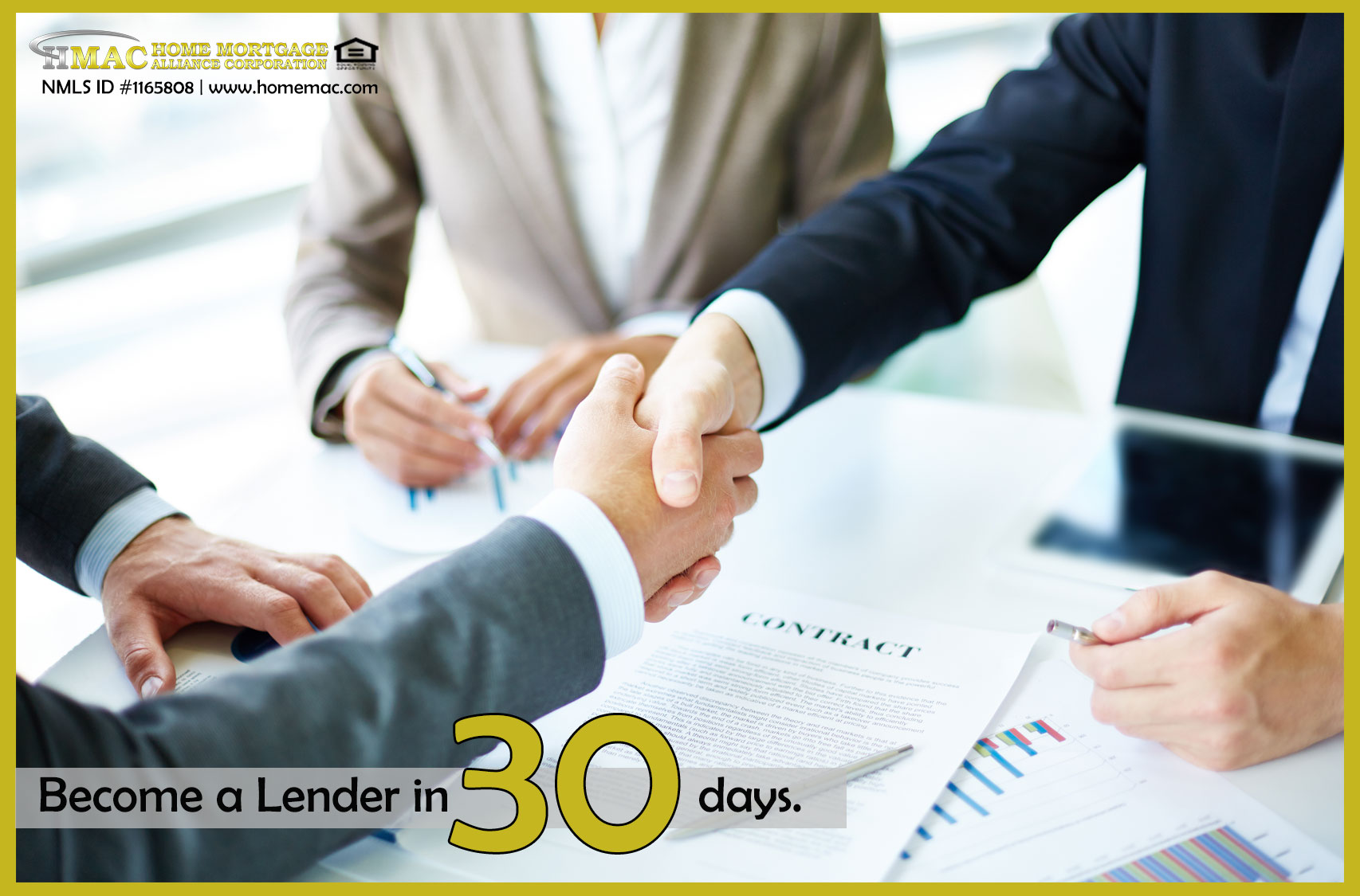 become a lender in 30 days