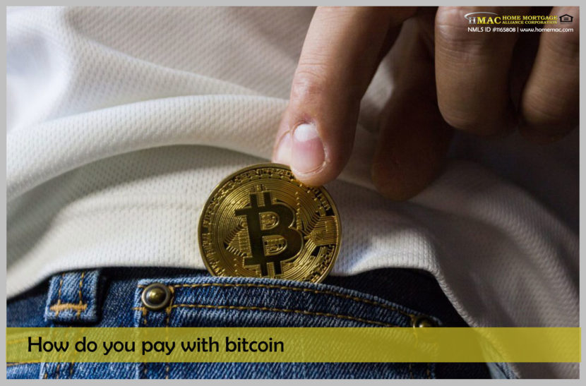 how do you pay with bitcoin