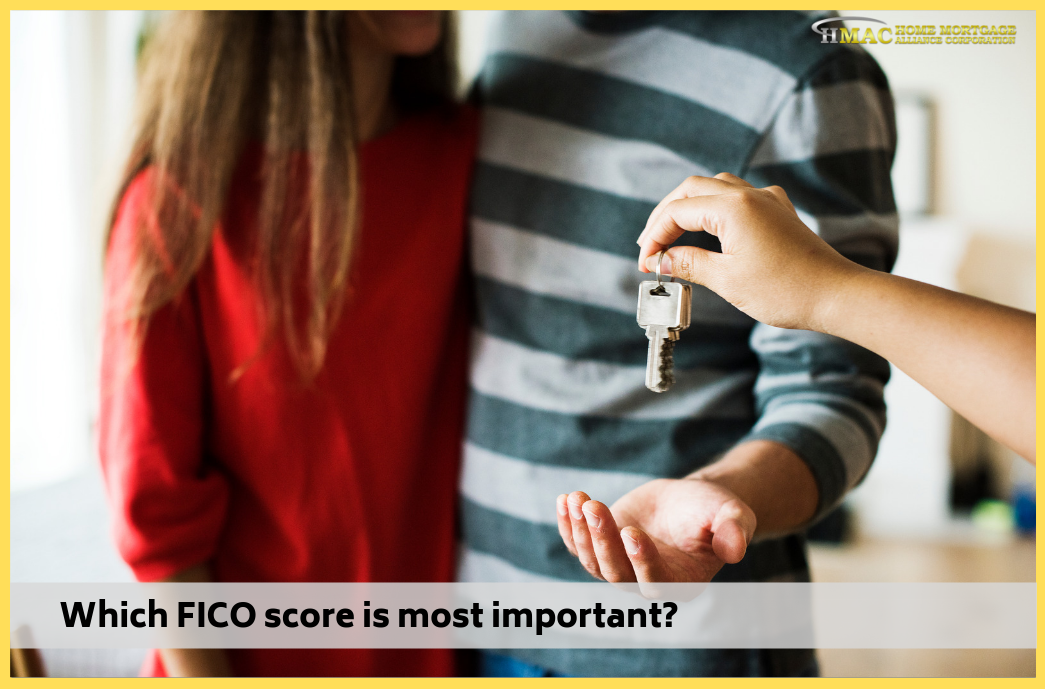 Which FICO score is most important