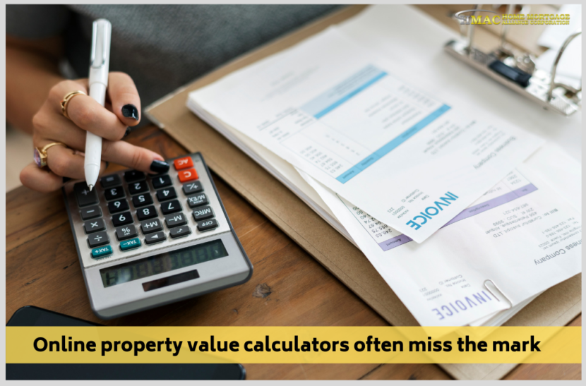 Online Property Value Calculators