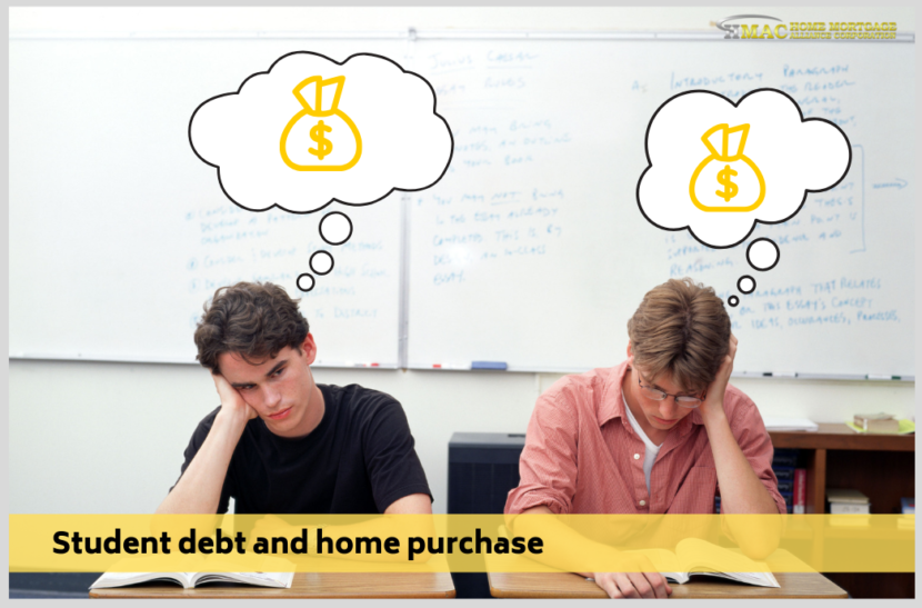 Student debt and home purchase