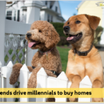 Furry friends drive millennials to buy homes</br></br>