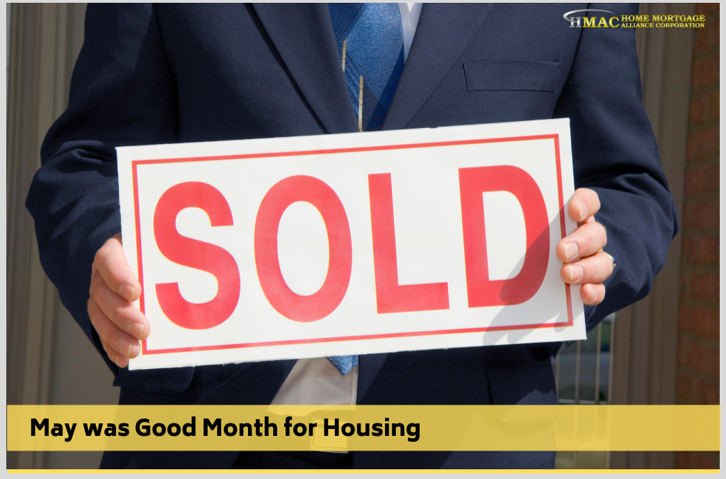 May was Good Month for Housing