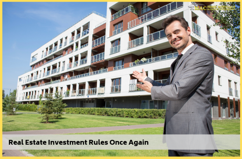 Real Estate Investment Rules Once Again