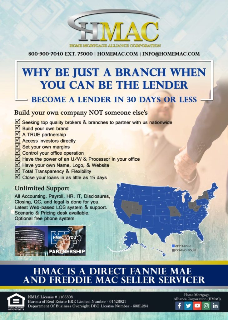 Business Opportunity - Loan Originators Mortgage Brokers