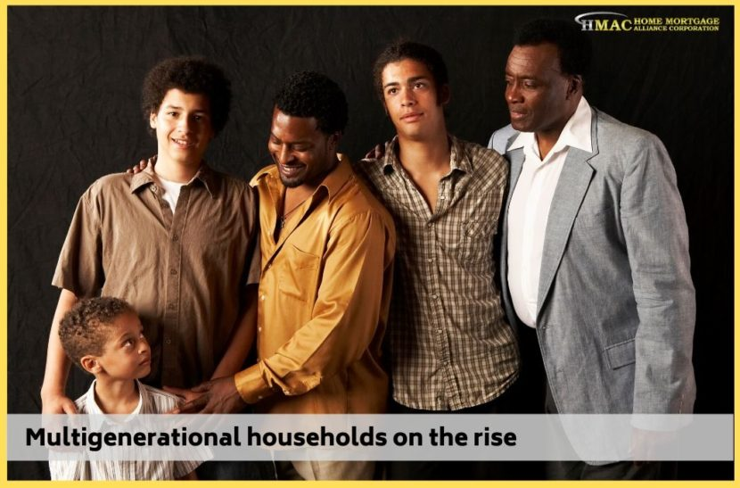 Multigenerational households on the rise