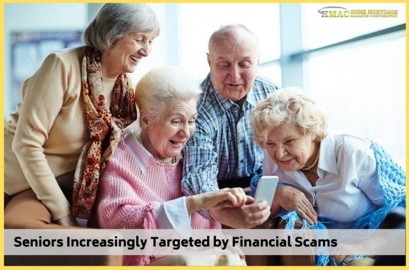 Seniors Increasingly Targeted by Financial Scams