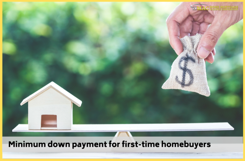 Minimum down payment for first-time homebuyers