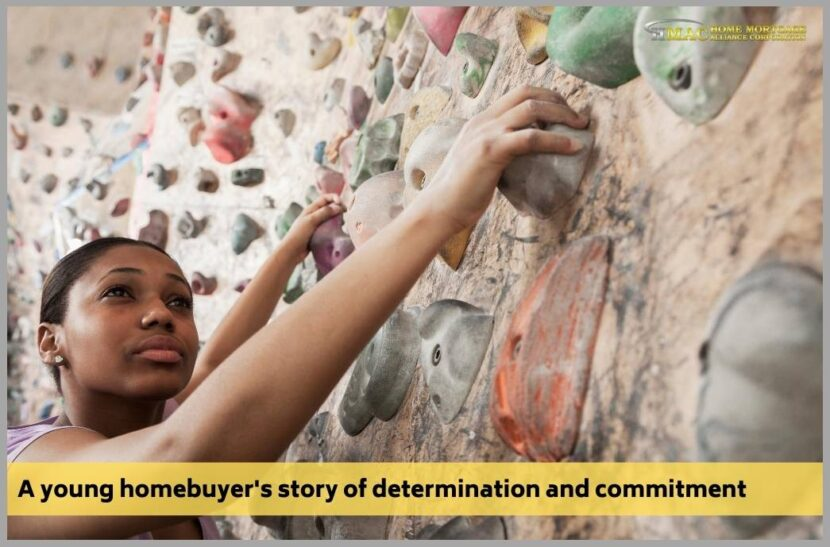 A young homebuyer's story of determination and commitment