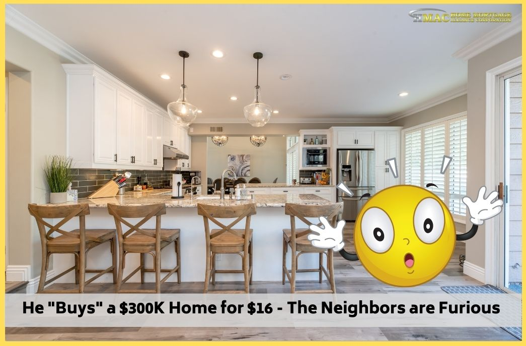 """He """"Buys"""" a $300K Home for $16 - The Neighbors are Furious"""