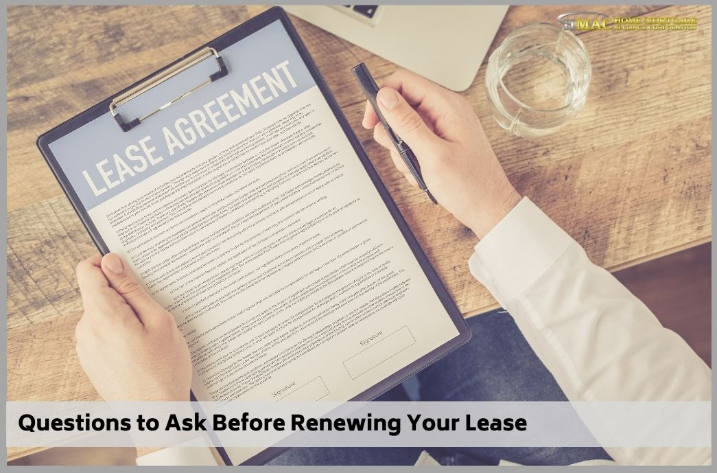 Questions to Ask Before Renewing Your Lease